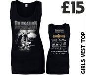 Image of Damnation 2014 Girls Vest Top