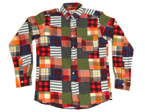 Image of Chemise Patchwork Flanelle