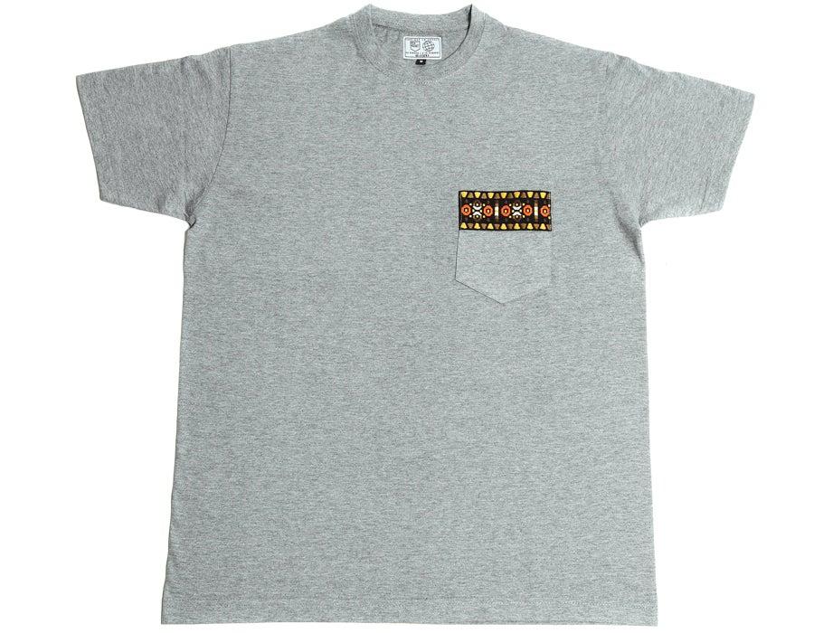 Image of Tshirt Ruban Aztec marron