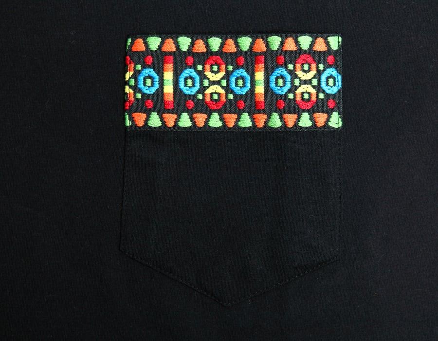 Image of Tshirt Ruban Aztec vert