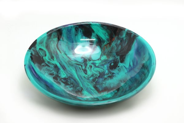 Image of Large Jade Swirl Bowl