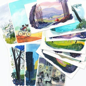 Image of The Complete Travel Postcards Set