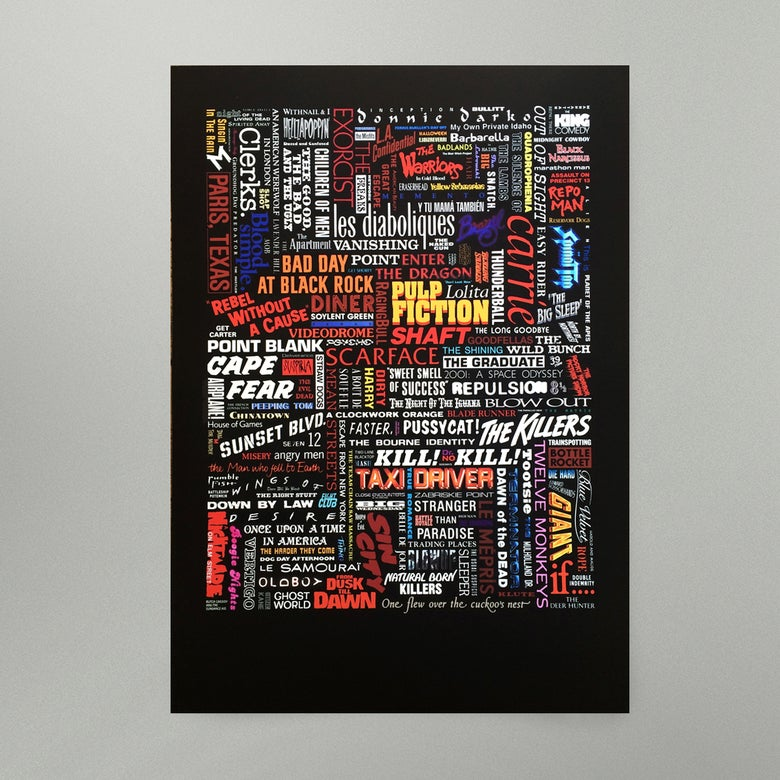Image of Title Sequence • Art Print