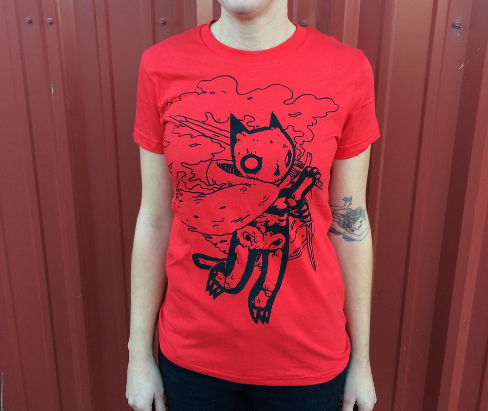 Image of Red Skeleton Shirt