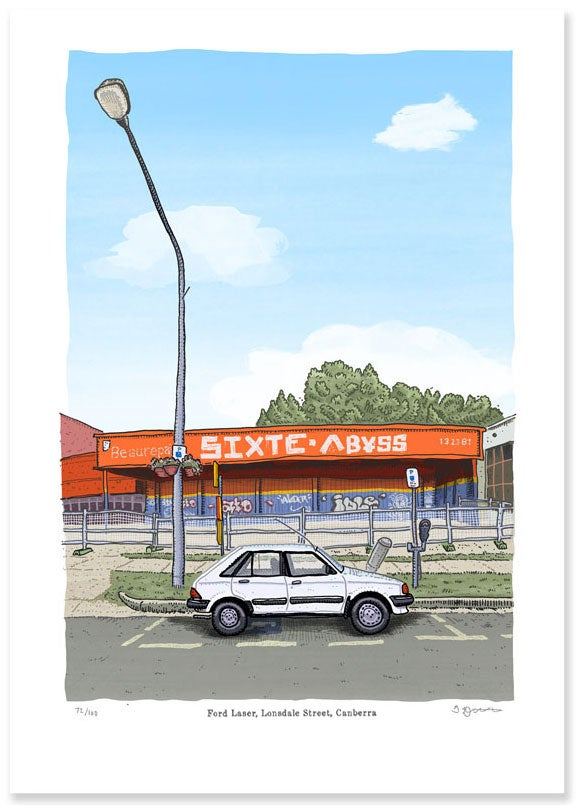 Image of Lonsdale Street limited Edition Digital Print