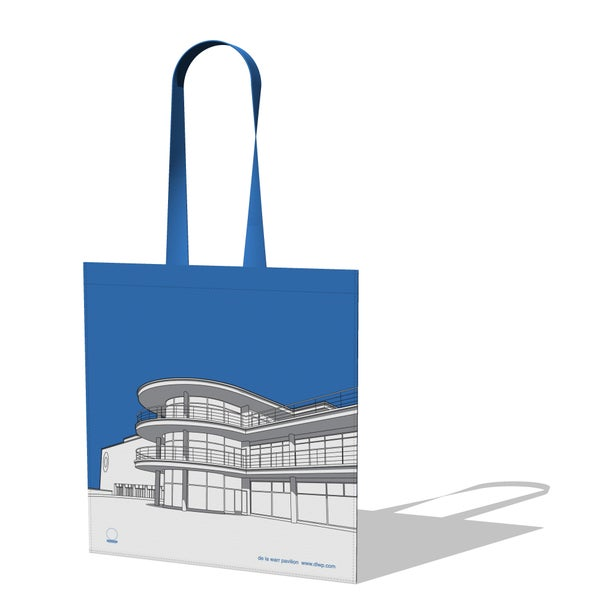 Image of De La Warr Pavilion Canvas Bag