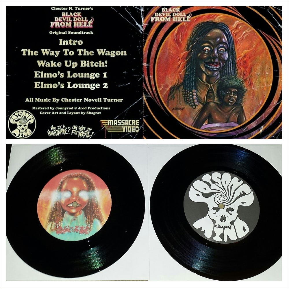 "Image of Black Devil Doll From Hell: Soundtrack 7"" (Sold Out)"