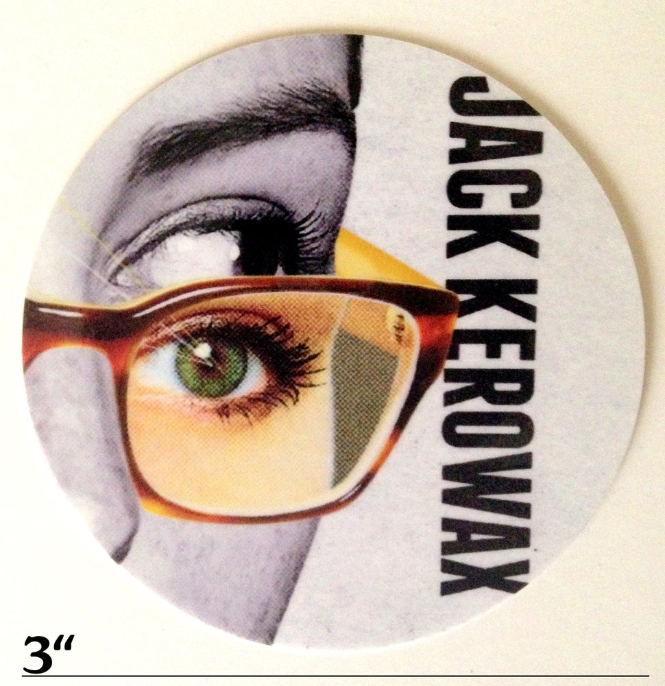 "Image of ""Jack Kerowax"" Album Cover Sticker"