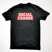 Image of Social Change TShirt (Black)