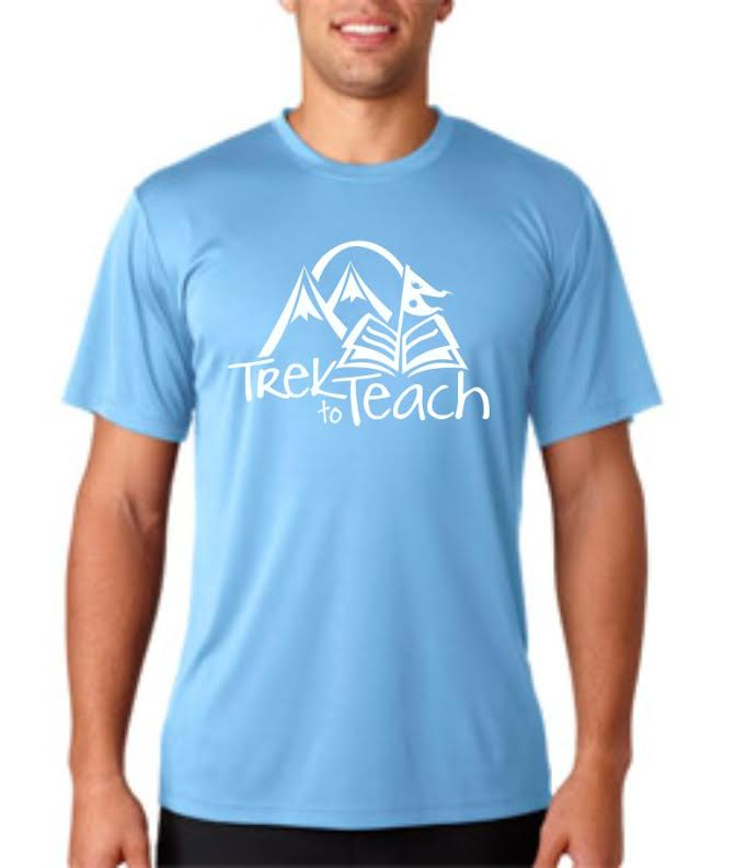 Image of Trek to Teach Dry-Fit Shirt