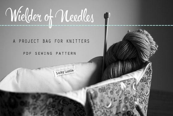 Image of PDF Sewing Pattern - Wielder of Needles Bag