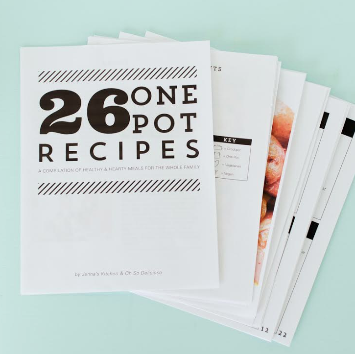 Image of 26 One Pot Recipes!