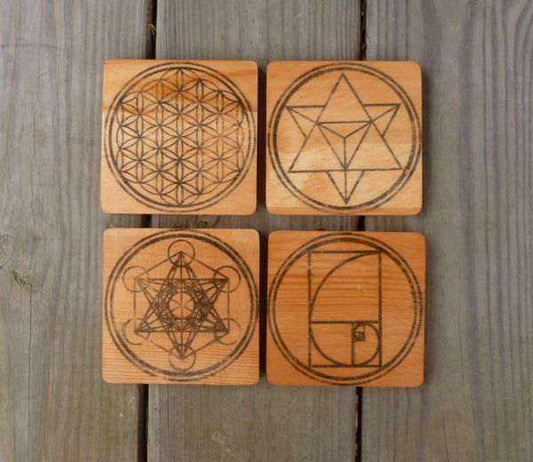 Image of Sacred Geometry Coasters