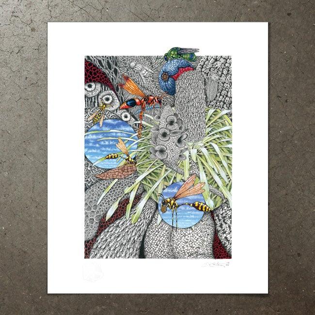 Image of BZZZZ - Art Print