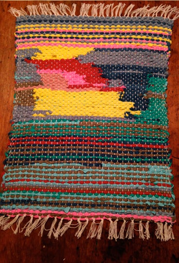 How to do rug hooking frames