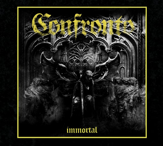 Image of CONFRONTO - Immortal. Digipack CD. PREORDER
