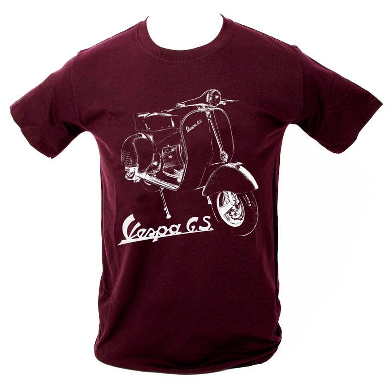 Image of Vespa GS T-Shirt MAROON