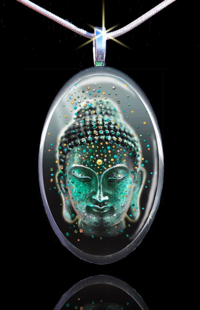 Image of Buddha Deep Serenity Pendant - Release your fears and worries