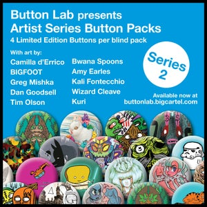 Image of SERIES 2 - Artist Series Button Pack