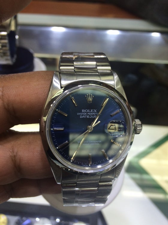 Image of Rolex Date Just Pre-Owned Stainless Steel