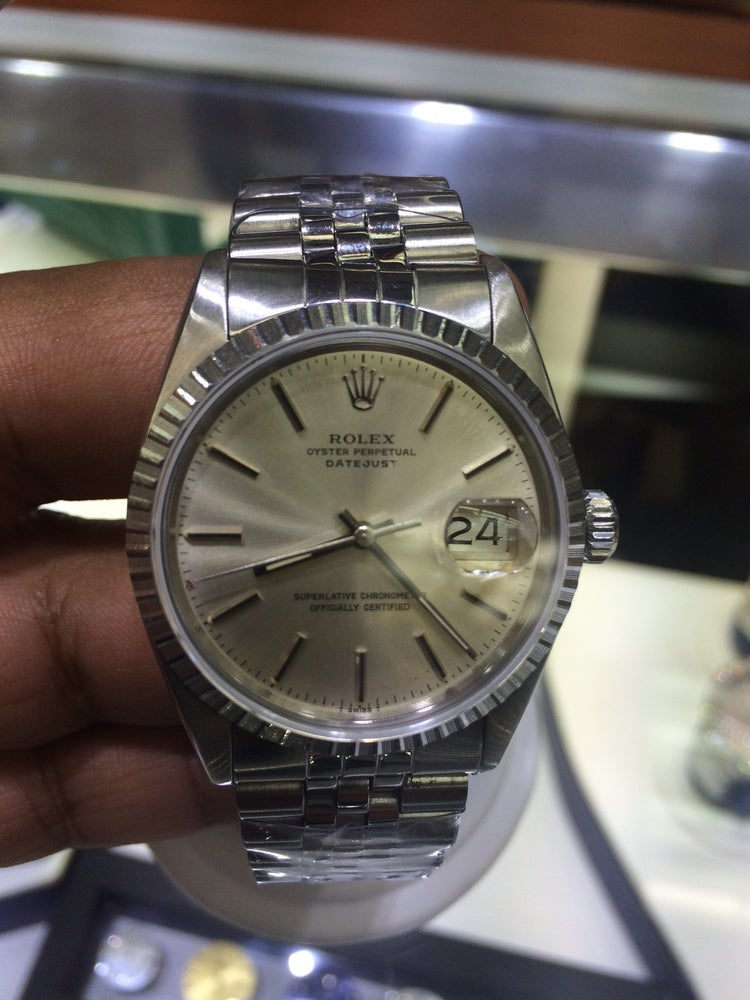 Image of Rolex Date Just Pre-Owned Stainless Steel Mint