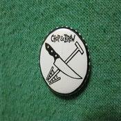 Image of Chop & Brew Mini Button