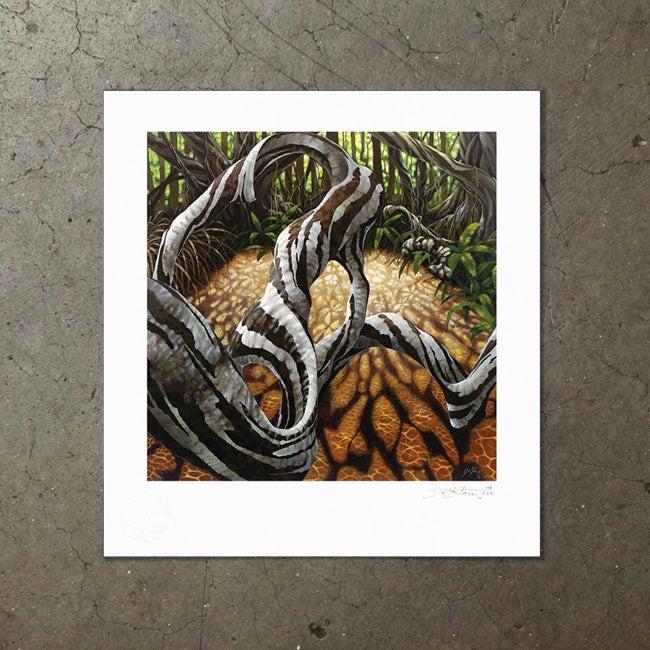 Image of Liquid Amber - Art Print