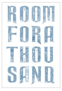 "Image of ""ROOM FOR A THOUSAND"" signed print"