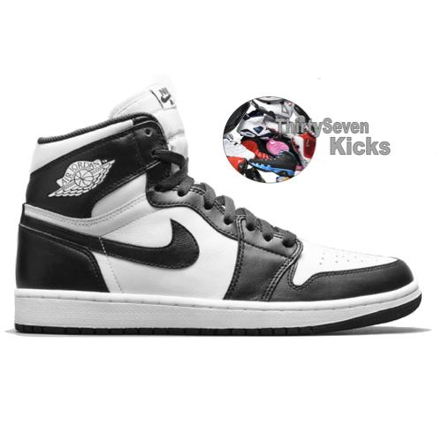 "Image of Jordan Retro 1 ""Black/White"""