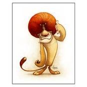 """Image of """"Call Me"""" Lion Print"""