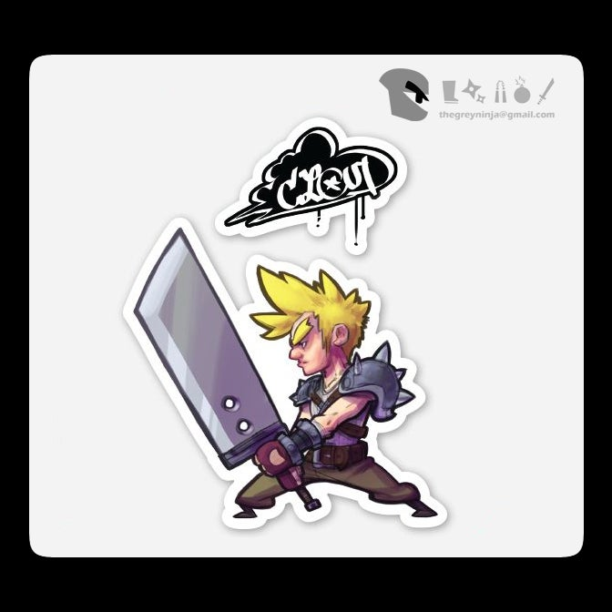 Image of FF7oz Sticker (of your choice)