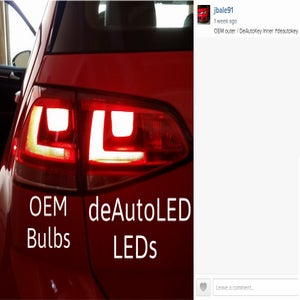 Image of Complete Brake / Turn / Tail LED Kit - Bright - Error Free - Fits: MKVII 2015 Volkswagen GTI / Golf