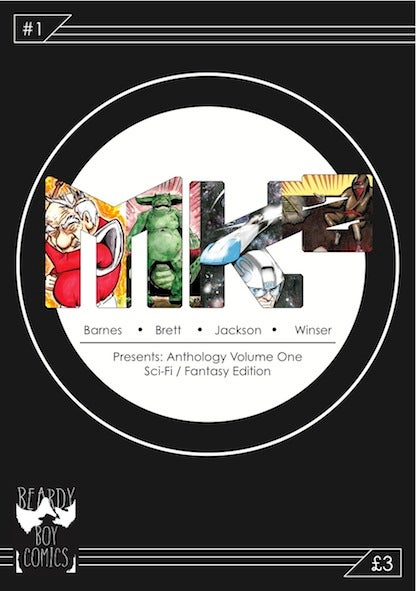 Image of MK² Comic Book Anthology