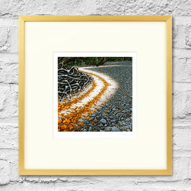 Image of Calophyllum Tide - Framed Print