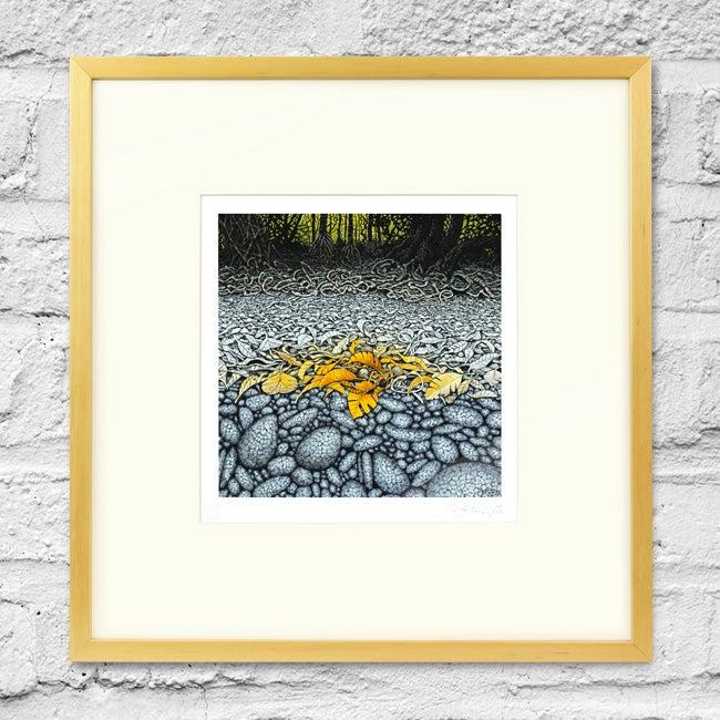Image of Low Tide - Framed Print