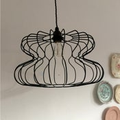 Image of Vetebrod wire lampshade
