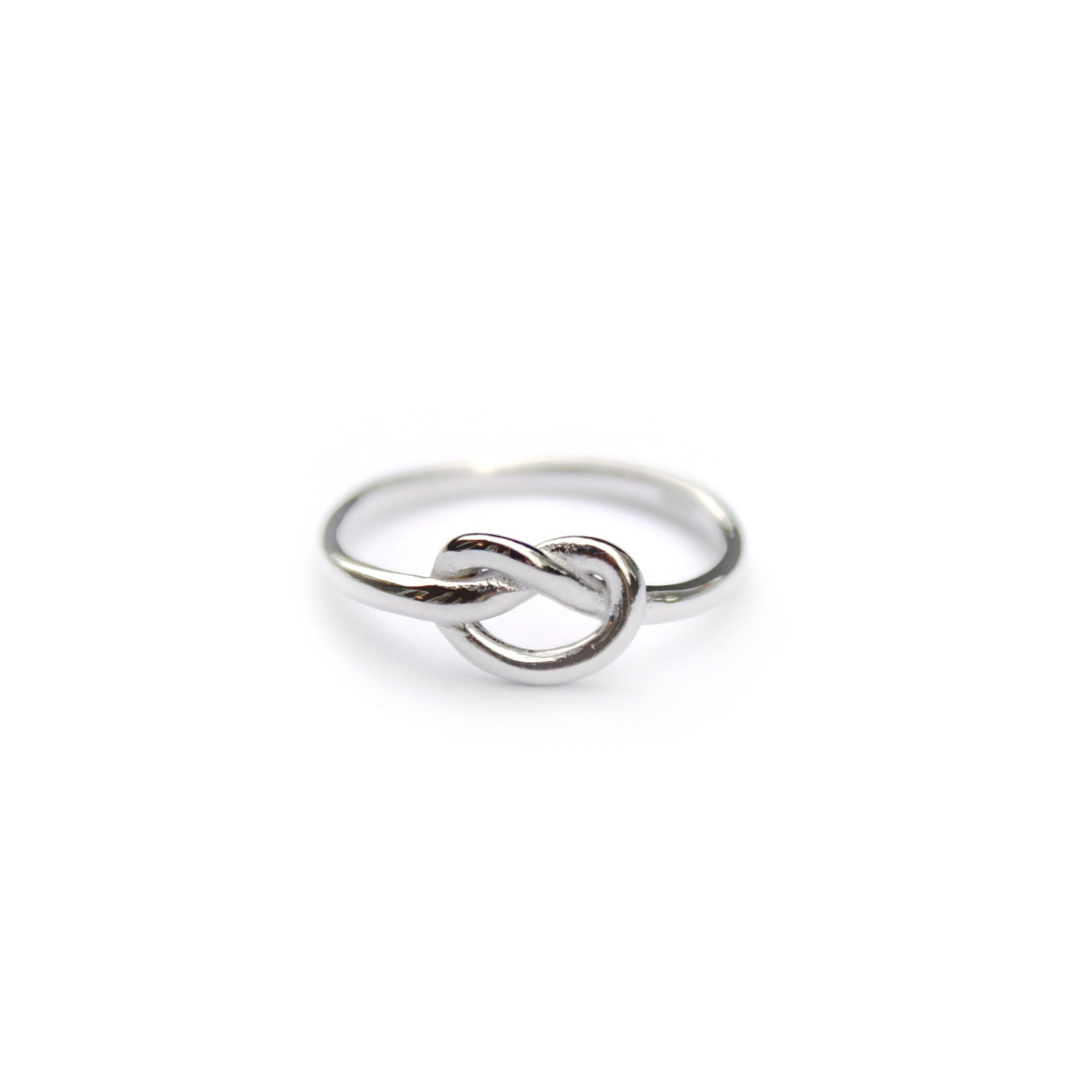knot ring 925 sterling silver pastel clouds