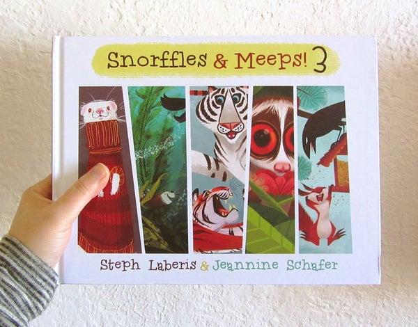 Image of Snorffles & Meeps! Vol. 3 Hardcover Book