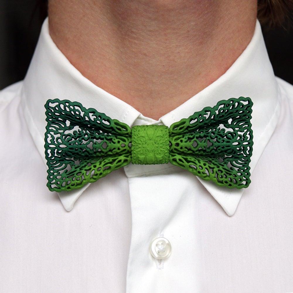 3d Printed Bow Tie Rendering Wip Mcneel Forum Tying Diagram Lace