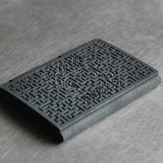 Image of 3D printed cardholder myKEES SUCCESS