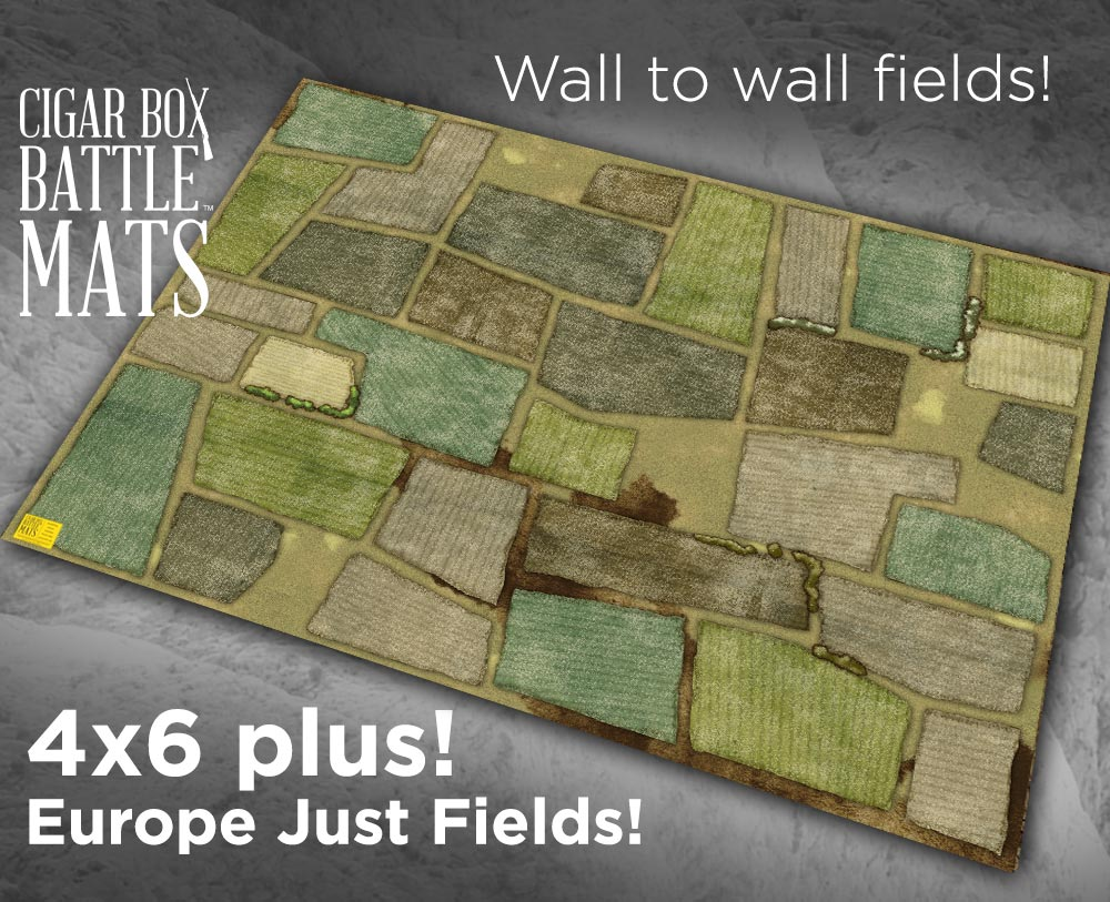 Europe Just Fields Battle Mat 4 X6 Plus 136