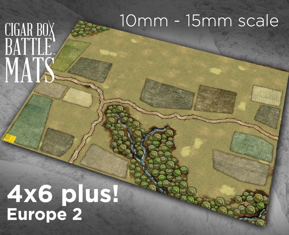 Image of Europe 2 Gaming Battle Mat -- 4'x6' plus -- #135