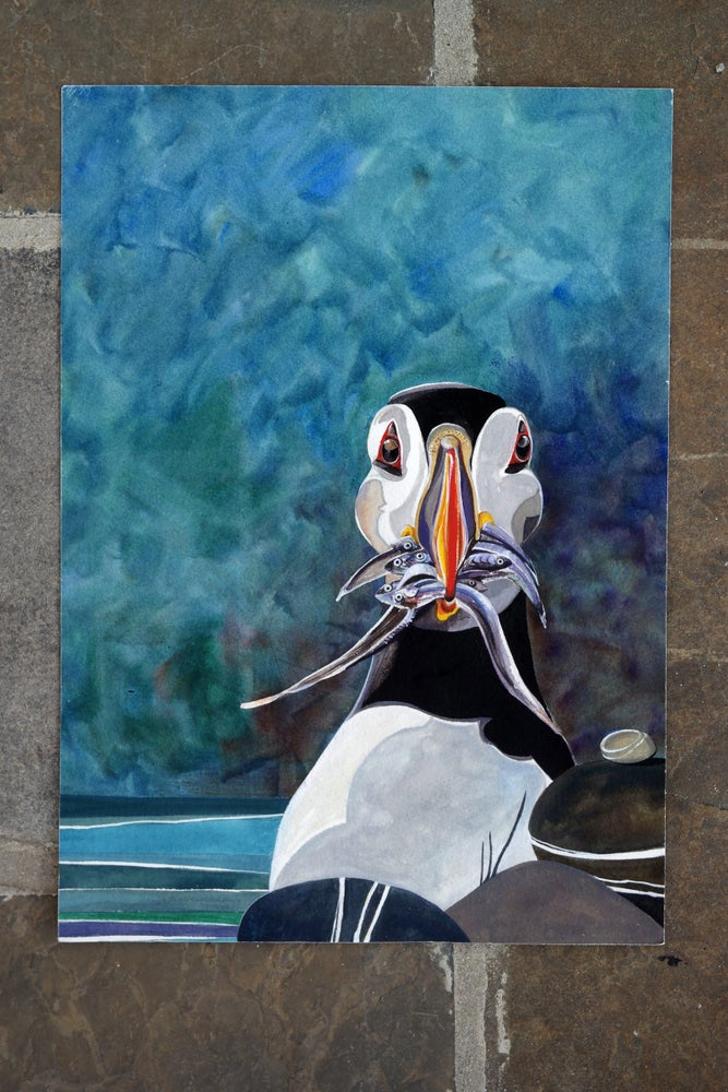 Image of 'Puffin' Limited Edition Print