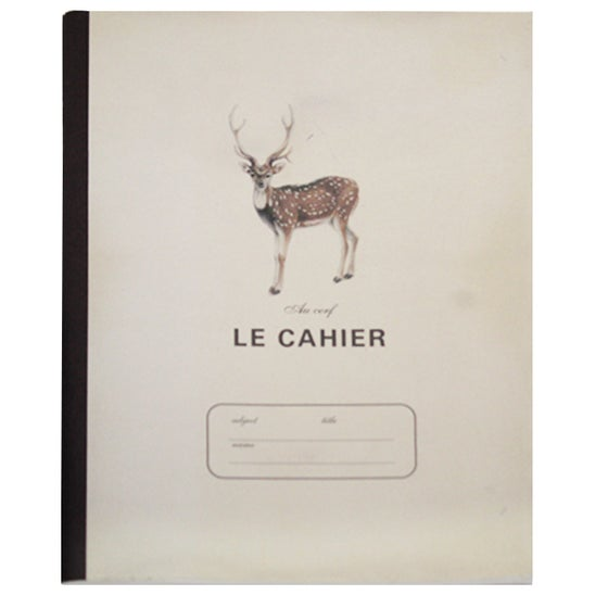 Image of Large Notebook - Deer