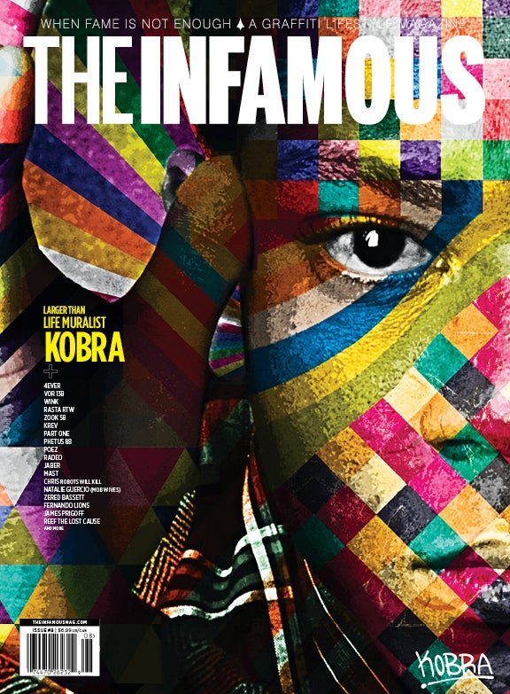 Image of Issue #8 – KOBRA cover