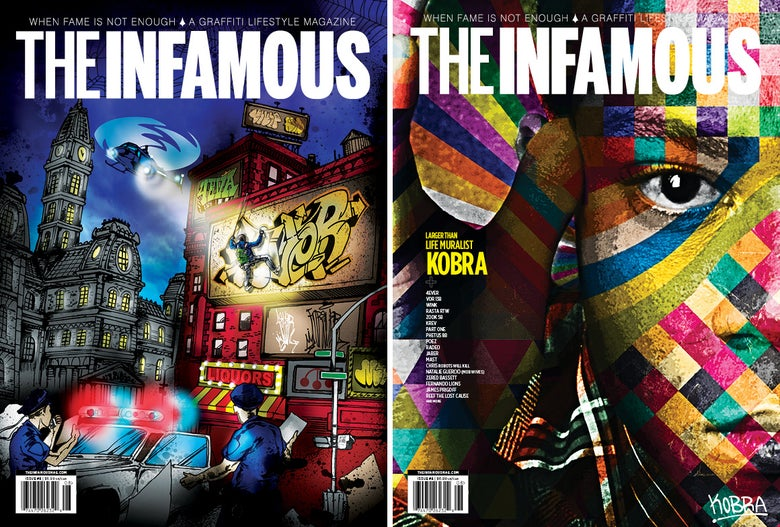 Image of Issue #8 – Package –Both covers
