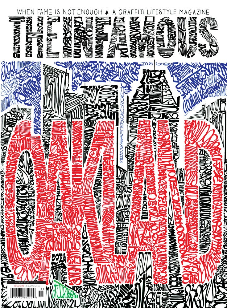 Image of Issue #5 – OAKLAND cover