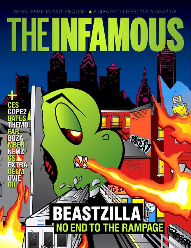 Image of Issue #1 – BONER cover