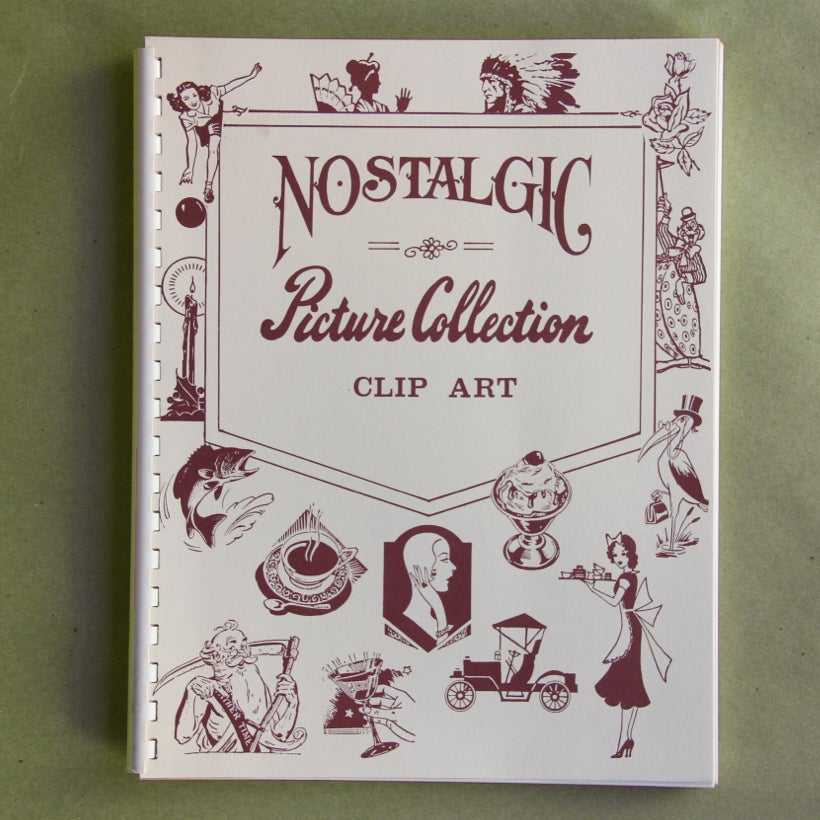 Image of Nostalgic Picture Collection Clip Art by Lonnie Tettaton
