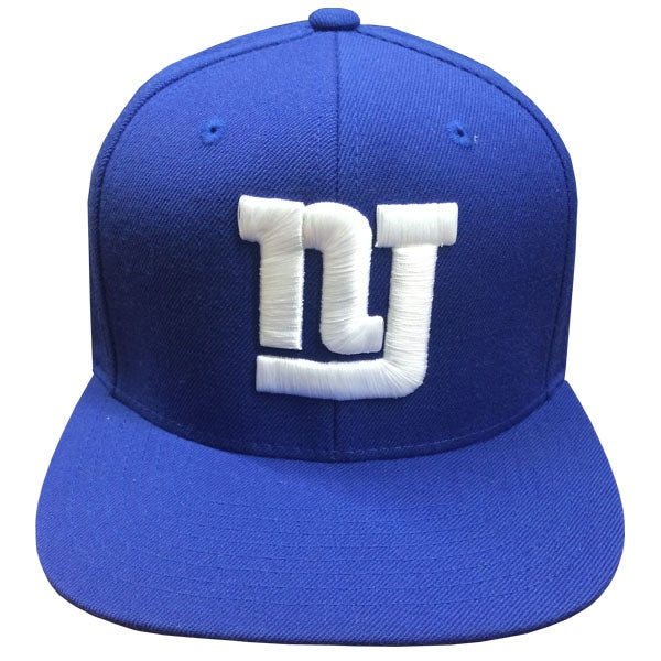 "Image of NJSOM ""NJ GIANTS""  LIMITED SNAPBACK"